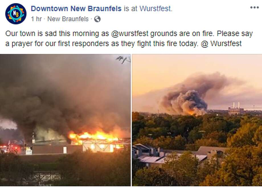 Downtown New Braunfels: