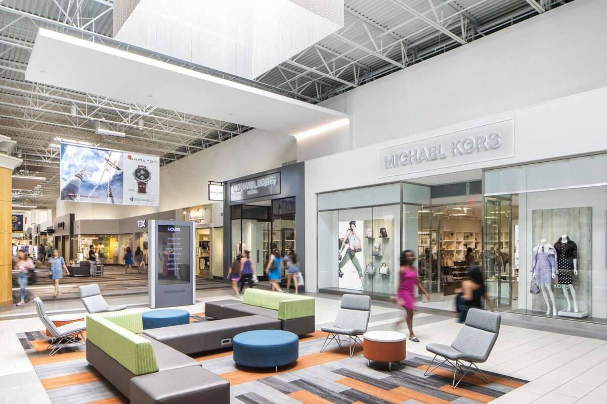 Katy Mills Mall's new interior renovations boast a brighter, more upscale look and include an updated dining pavilion, new seating throughout the property, movie theater courtyard and an interactive Disney Jr. play area.