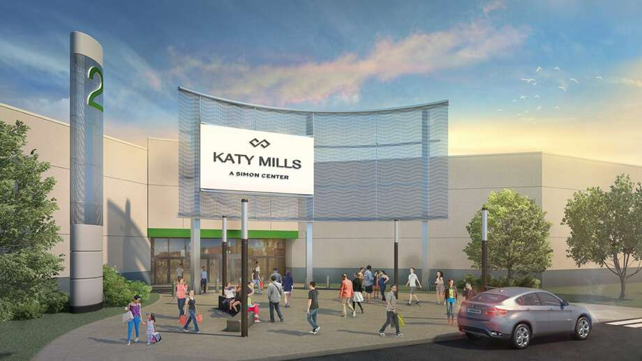 The exterior renovations will boast a neutral color palette and include new concrete walkways and landscaping. Photo: Simon Malls