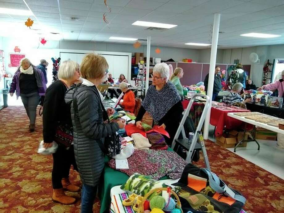 Saturday's Senior Craft Show was a great day. Many vendors came to show/sell their wares, and there was a constant stream of visitors and shoppers. (Courtesy photo)