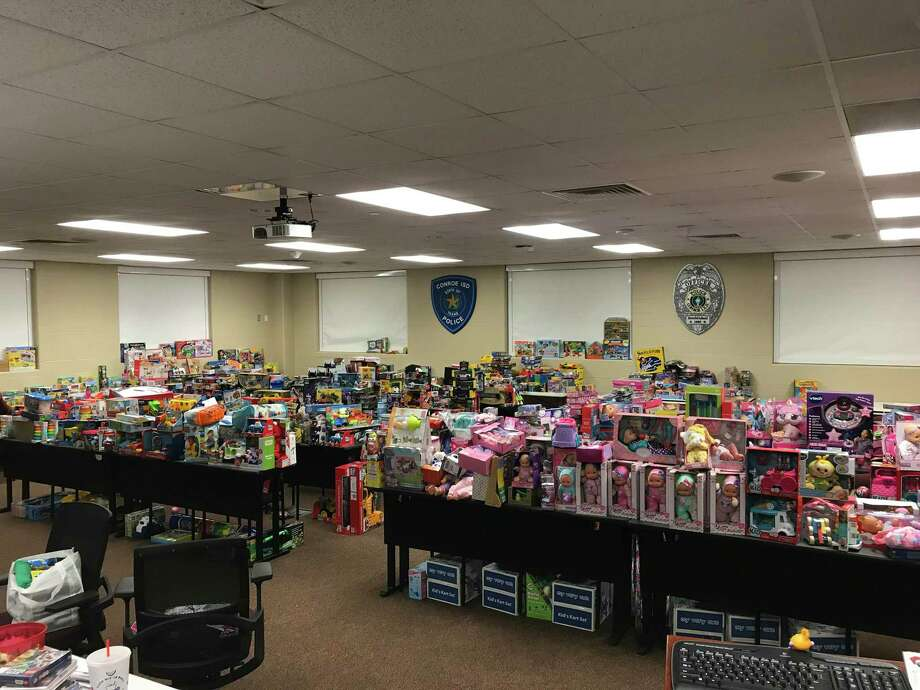 The CISD PD is looking to collect around 2,000 toys to give away to the families in need in the district this holiday season. Photo: Provided