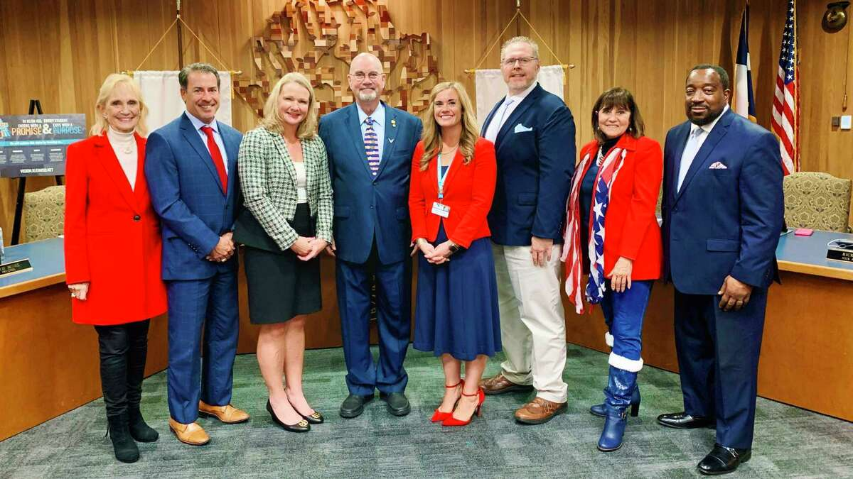 Rick Mann, Klein ISD's longest-tenured trustee, was honored by the Klein ISD community for his service to the school district during his last school board meeting on Nov. 11, 2019.