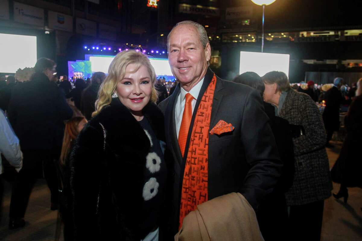Whitney and Jim Crane at Houston Methodist Hospital's celebration of its 100 year anniversary with the