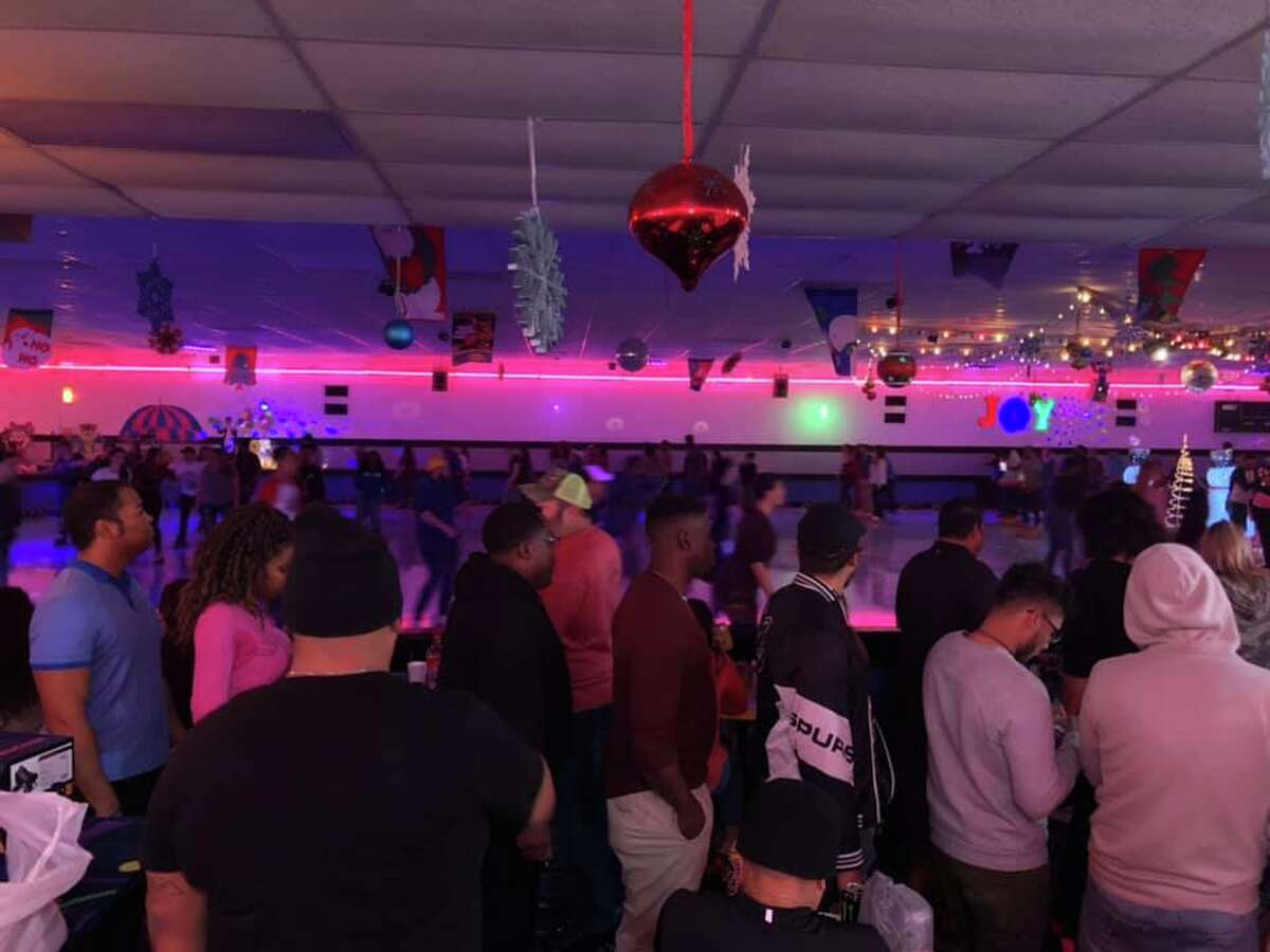 More than 600 adults showed up at Car-VelSkate Center Leon Valley for the rolling rink's