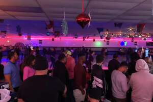 "More than 600 adults showed up at  Car-Vel Skate Center Leon Valley for the rolling rink's ""Thursday Throwback Adult Skate Nights!"" on Thursday, Nov. 14."