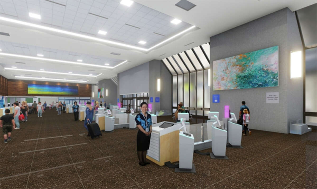 Hawaiian Airlines' lobbies at Honolulu's airport are getting new passenger check-in kiosks this month.