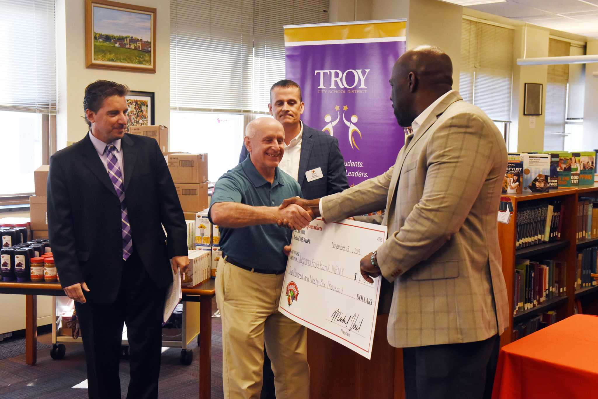 Troy High School pantry to provide students with weekend meals