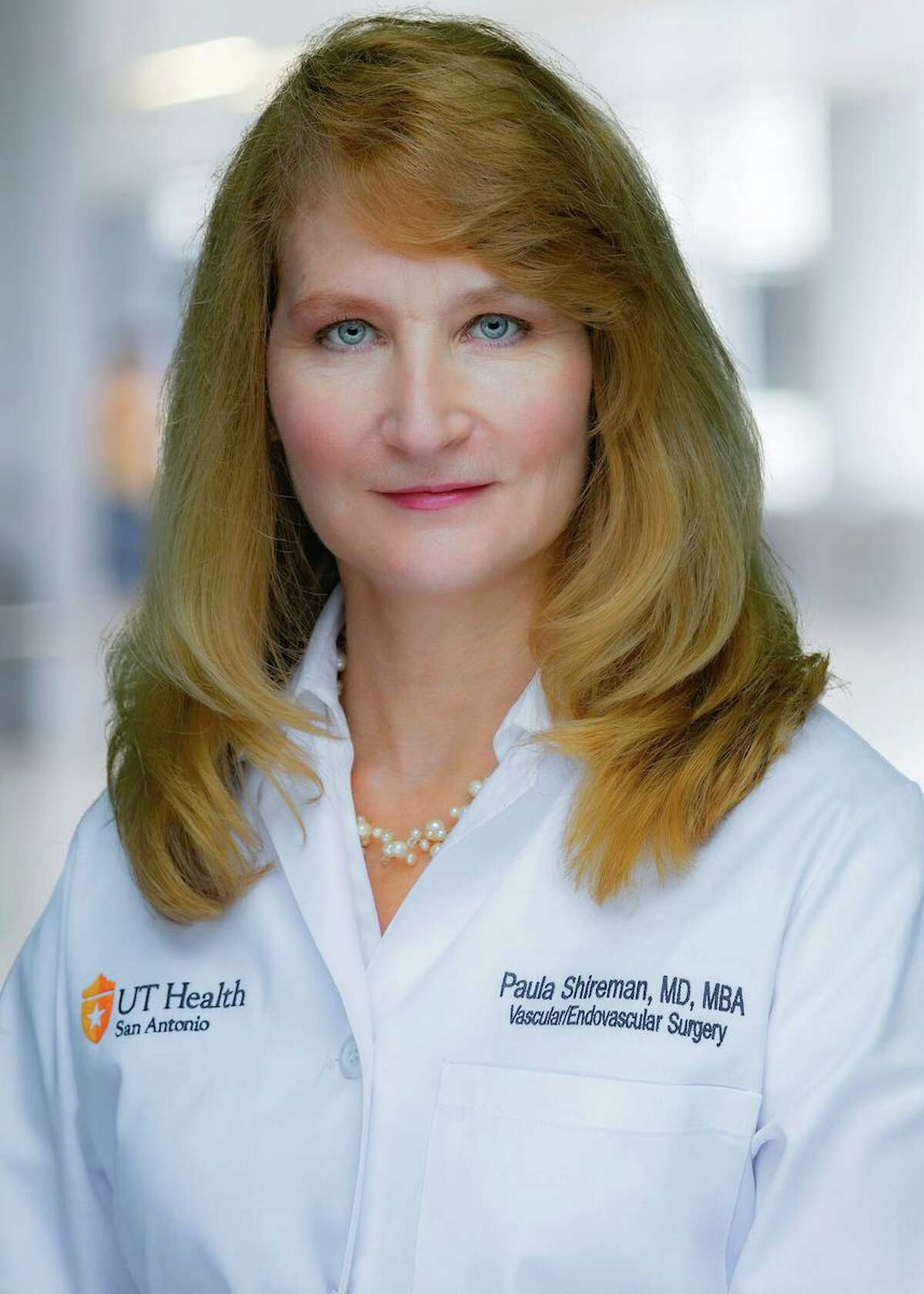 Dr. Paula Shireman is a vascular surgeon with UT Health San Antonio.