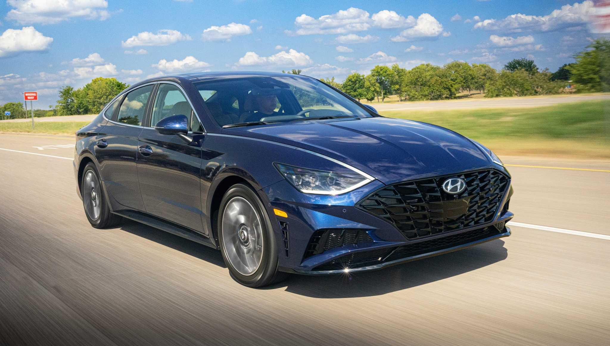 2020 Hyundai Sonata upgraded with a more striking design, new body architecture