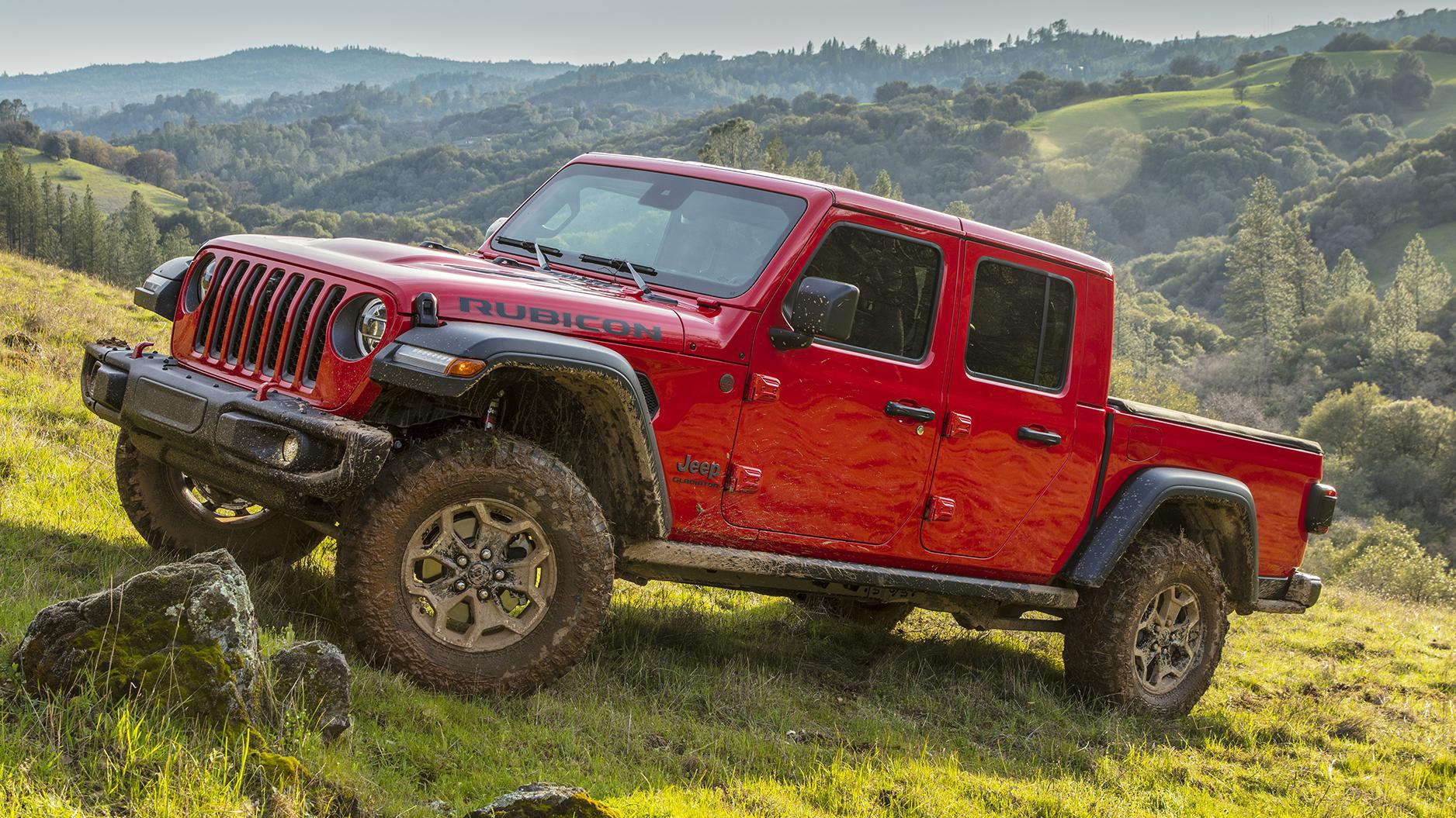 2020 Jeep Gladiator Rubicon: Part truck and mountain goat