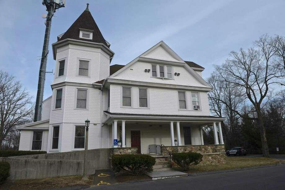 Ridgefield Police Department on East Ridge Road. Photo: H John Voorhees III / Hearst Connecticut Media / The News-Times