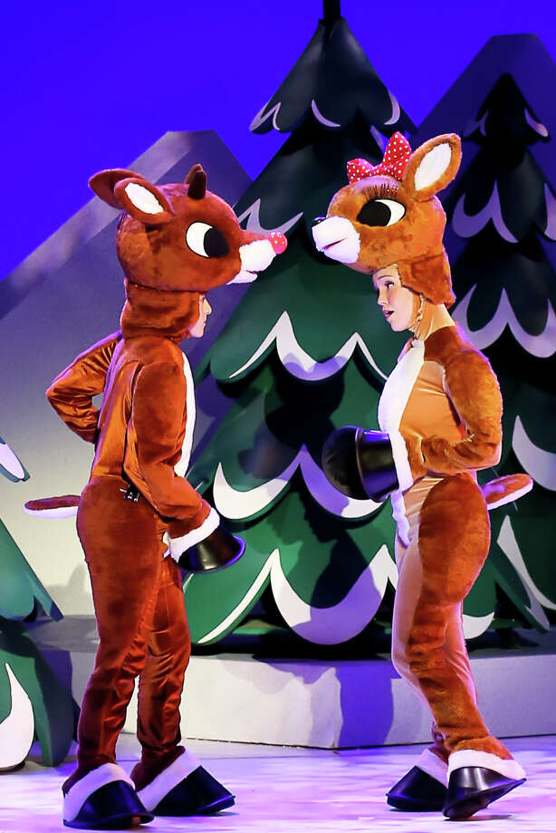 "The Grand presents ""Rudolph the Red-Nosed Reindeer: The Musical."" Photo: Courtesy Of The Grand"
