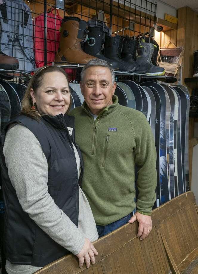 Gina and Scott Ragan, owners of Ski Skeller Sports, celebrating the 50th anniversary of the store. 11/14/19  Tim Fischer/Reporter-Telegram Photo: Tim Fischer/Midland Reporter-Telegram