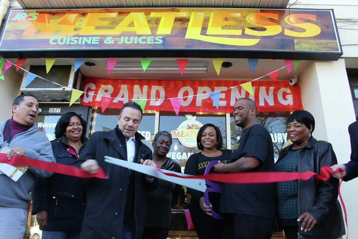 Jr's Meatless Cuisine and Juices has officially opened at 3927 Main Street.