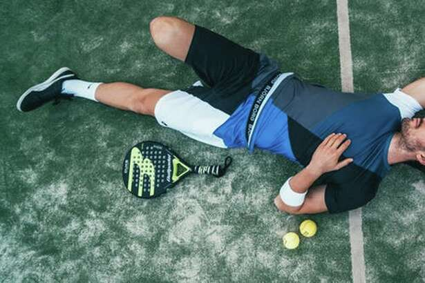 tired athlete needs a good night's sleep