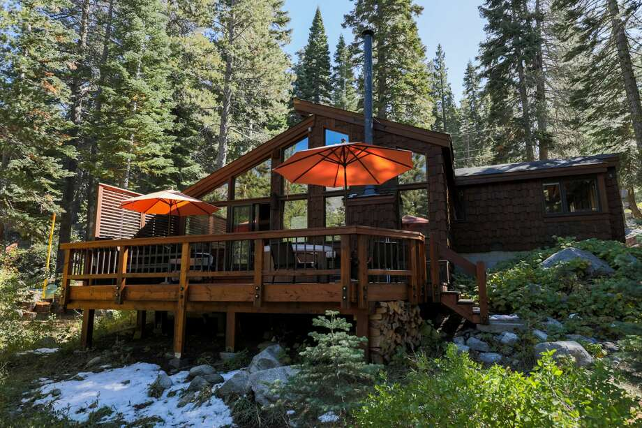 Heath Ceramics owners Cathy Bailey and Robin Petravic are now renting their cabin near Lake Tahoe through Airbnb. The four-bedroom home is in Alpine Meadows near the ski resort. Photo: Heath Ceramics
