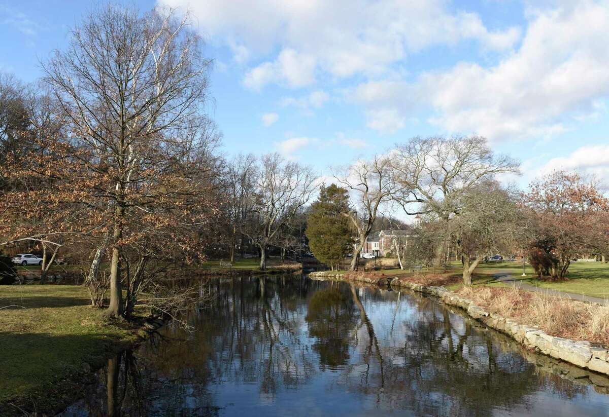 Binney Park in Old Greenwich, Conn., photographed on Wednesday, Jan. 9, 2019.