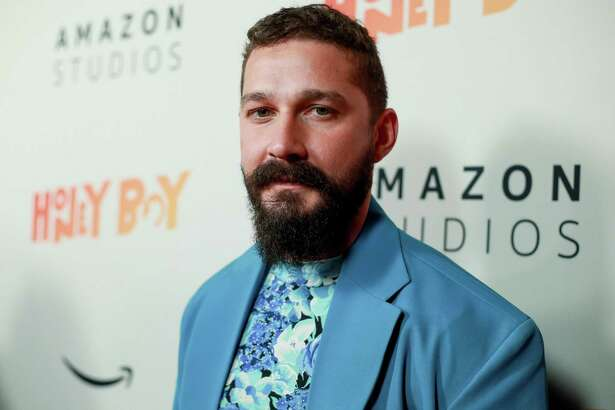 "HOLLYWOOD, CALIFORNIA - NOVEMBER 05: Shia LaBeouf attends the premiere of Amazon Studios ""Honey Boy"" at The Dome at Arclight Hollywood on November 05, 2019 in Hollywood, California. (Photo by Rich Fury/Getty Images)"