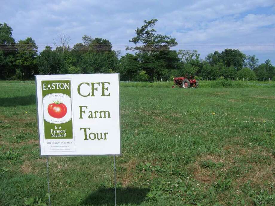 The group Citizens for Easton has planned a farm tour this  Saturday to highlight the town's many working farms. In addition to the tour, which launches off from the green in front of the firehouse, there will be music entertainment and food for purchase. Photo: Contributed Photo / Stamford Advocate Contributed