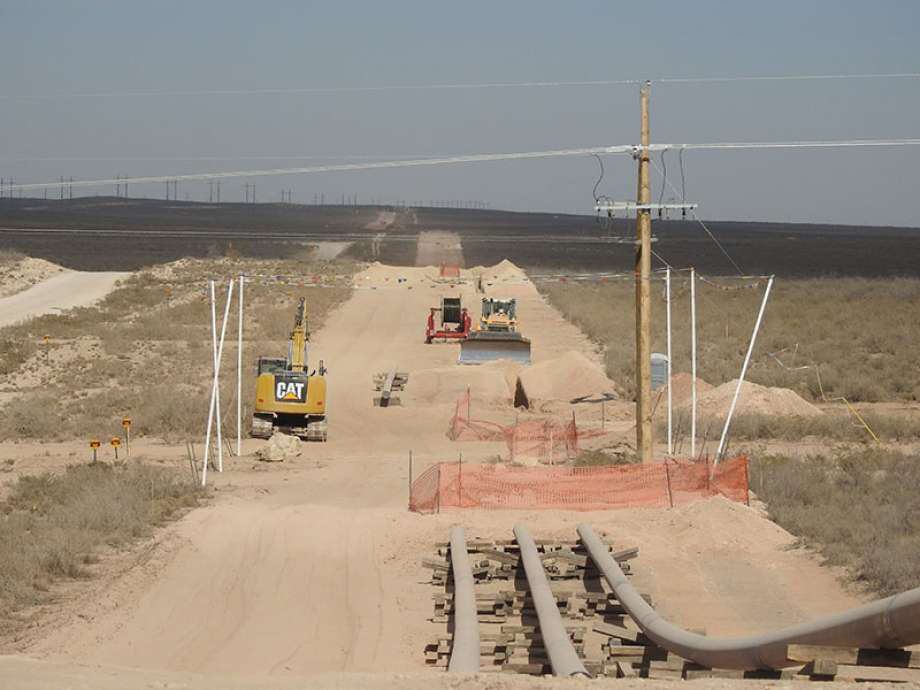 Construction of EPIC Pipeline's pipeline to the Gulf Coast is shown. (if that photo is used). Two Texas Tech professors say an understanding of the impact of pipelines, from the economy to the environment, is important so informed decisions can be made. Photo: Courtesy Photo