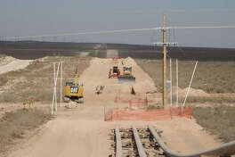 Construction of EPIC Pipeline's pipeline to the Gulf Coast is shown. (if that photo is used). Two Texas Tech professors say an understanding of the impact of pipelines, from the economy to the environment, is important so informed decisions can be made.