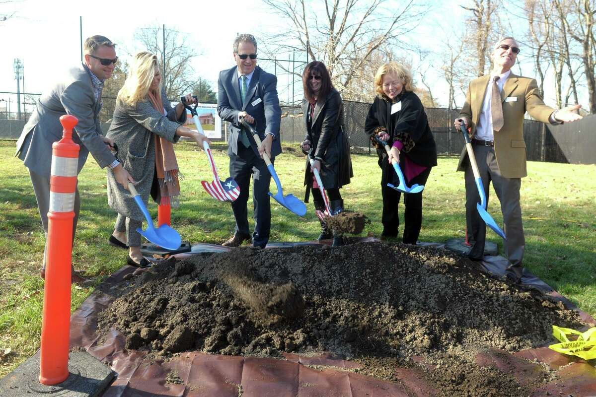 A ground-breaking was held for a new Life Skills & Vocational Training Facility at Boys & Girls Village in Milford Friday.