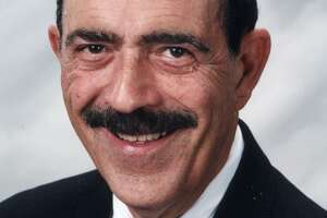 Paul Lazzaro, the former Vice President of Marketing and Public Affairs for The Woodlands Operating Co., is shown in this 1999 photograph. Lazzaro died this week at the age of 85