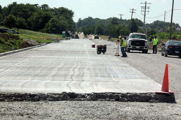 The section of Goshen Road that was rebuilt in front of the YMCA during the summer is the preview of a larger effort to widen and rebuild the road east to Sports Park Drive at Plummer Family Park.