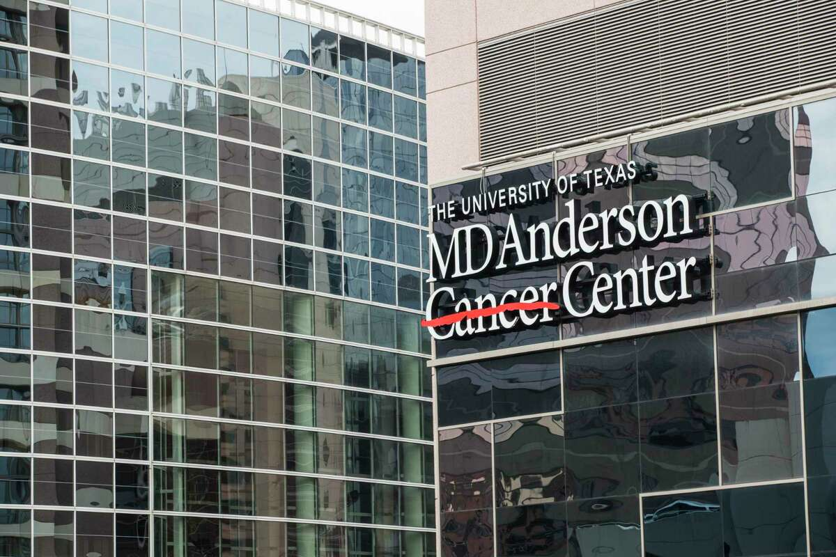 The M.D. Anderson Cancer Center campus is shown on Wednesday, Nov. 13, 2019, in Houston.