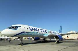 United's MileagePlus just implemented a whole new structure for award travel pricing. Pictured: United's California themed 757