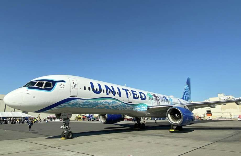 United's MileagePlus just implemented a whole new structure for award travel pricing. Pictured: United's California themed 757 Photo: Chris Mcginnis