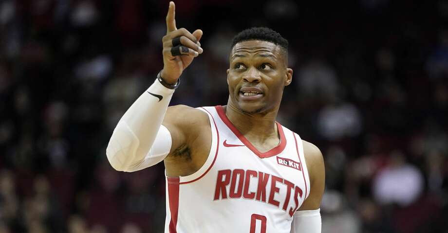 PHOTOS: Rockets game-by-game Houston Rockets' Russell Westbrook (0) points to the video board after being called for a foul against the Los Angeles Clippers during the first half of an NBA basketball game Wednesday, Nov. 13, 2019, in Houston. (AP Photo/David J. Phillip) Browse through the photos to see how the Rockets have fared in each game this season. Photo: David J. Phillip/Associated Press