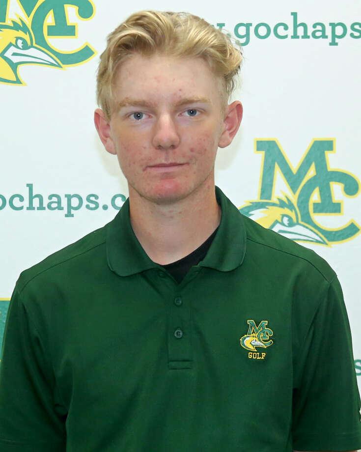 Midland College golfer George Saunders Photo: Midland College Athletics