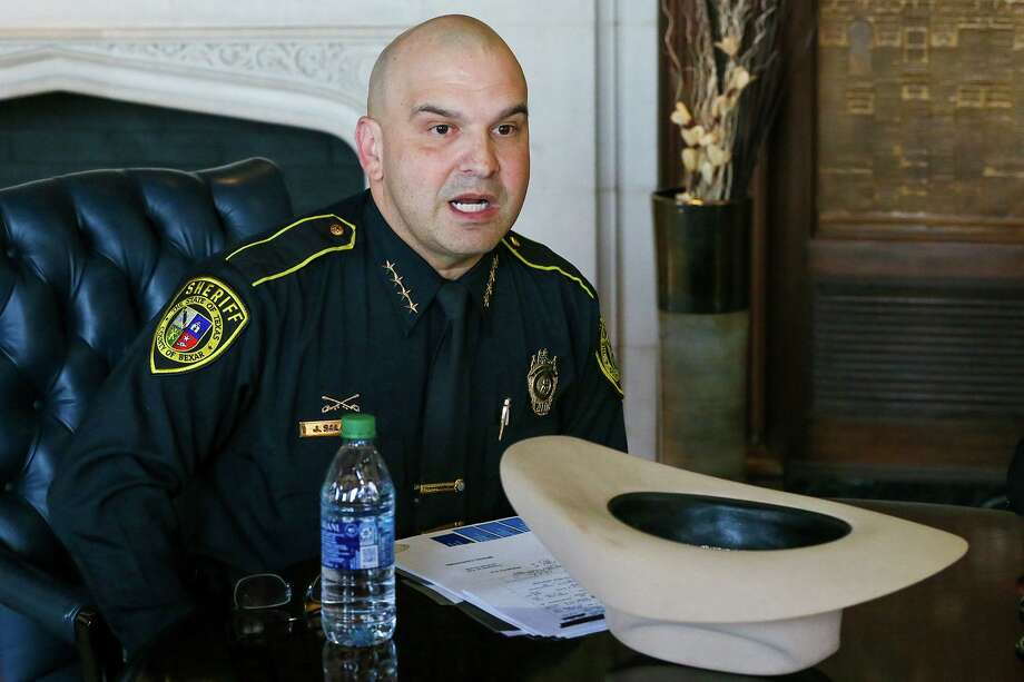 (FILE) A former Bexar County Sheriff Deputy (not pictured) has been arrested a third time in a domestic violence incident. Photo: Marvin Pfeiffer /Staff Photographer / Express-News 2019