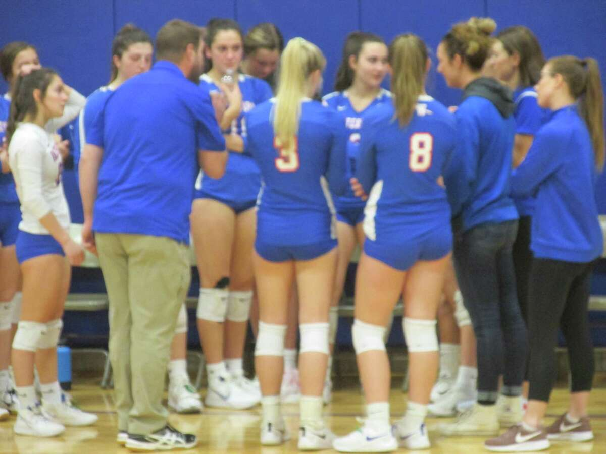 Waterford coach Matt Maynard led his girls volleyball team to next week's Class M semifinals with a quarterfinal win over Nonnewaug Friday evening at Woodbury Middle School.