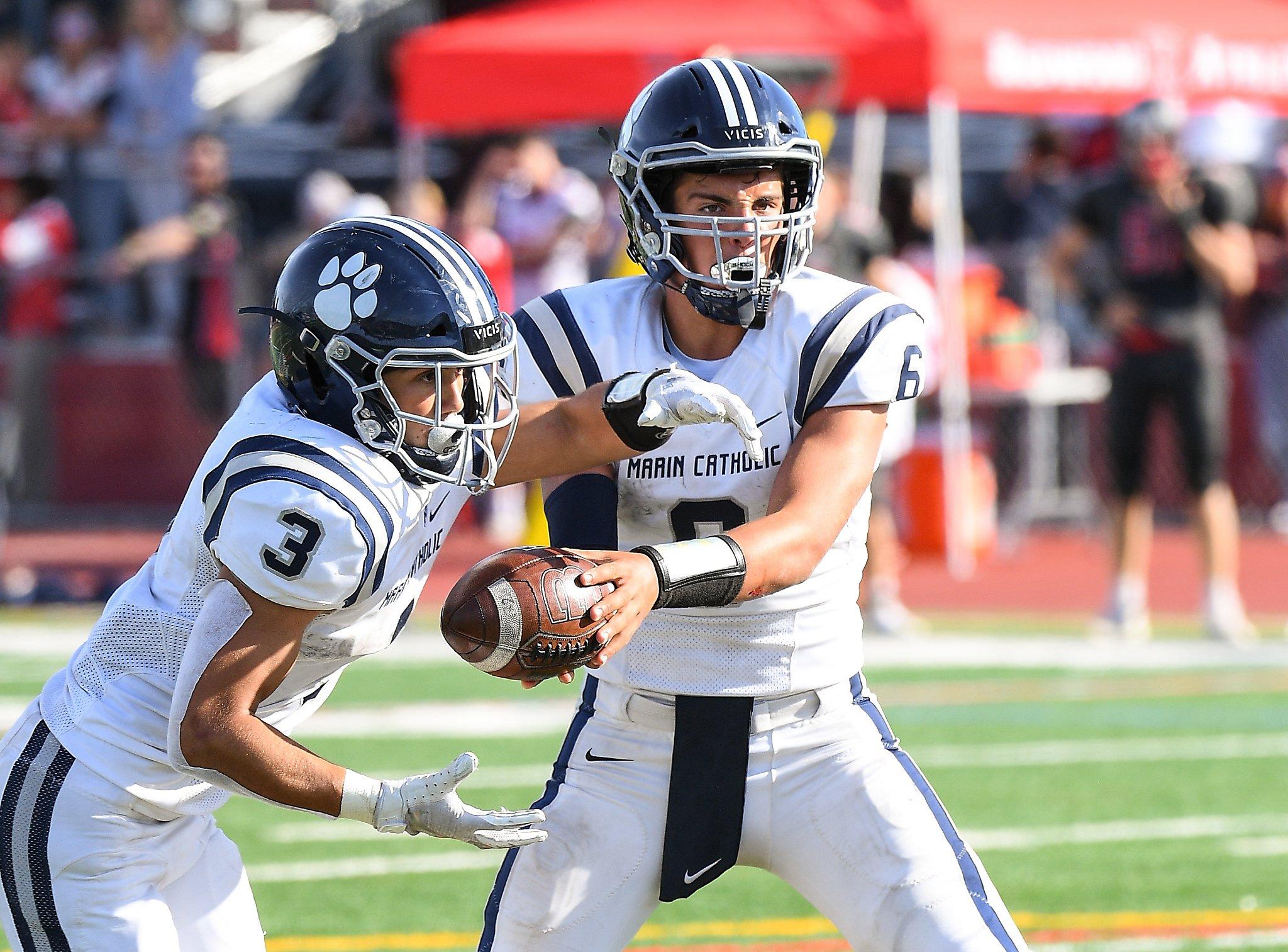 Marin Catholic harbors football title hopes - San Francisco Chronicle