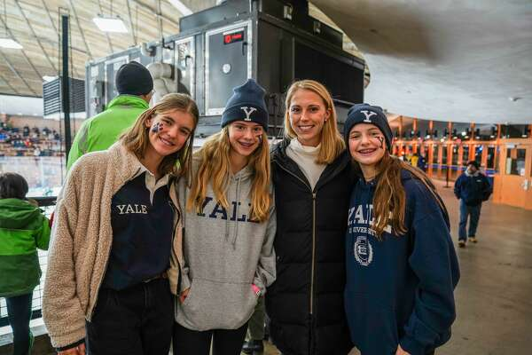 The Yale Bulldogs faced the Dartmouth Big Green in the hockey rink on November 15, 2019. Were you SEEN in the stands?