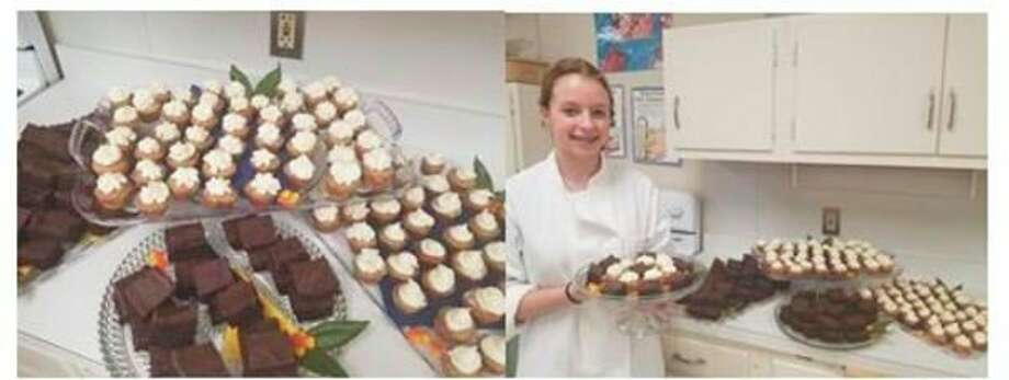 Hemlock High School's culinary arts class provided 200 delicious desserts to the Saginaw Rescue Mission. (Photo provided)