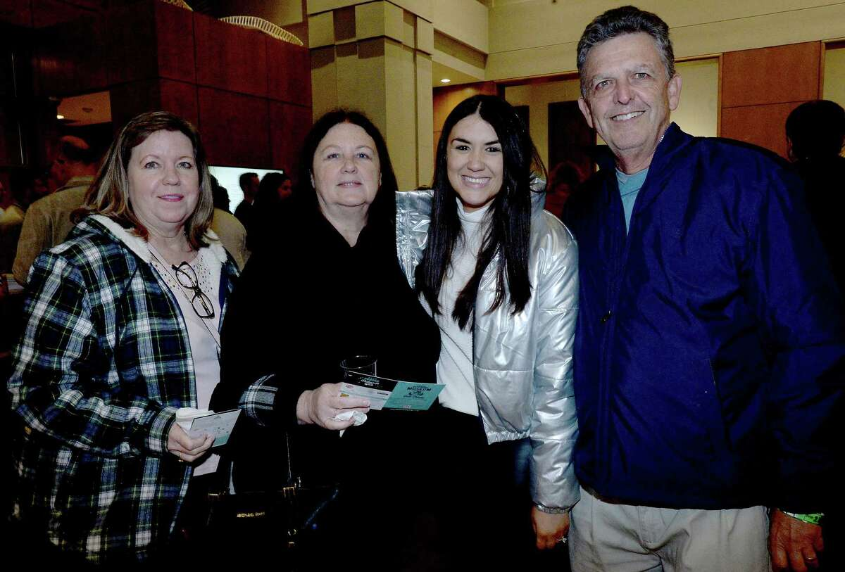 Pub crawlers were at the Restaurant Week - capping Museum Pub Crawl Friday. Brew and bites were available at downtown museums, including AMSET, the Energy Museum and the Fire Museum. Photo taken Friday, November 15, 2019 Kim Brent/The Enterprise