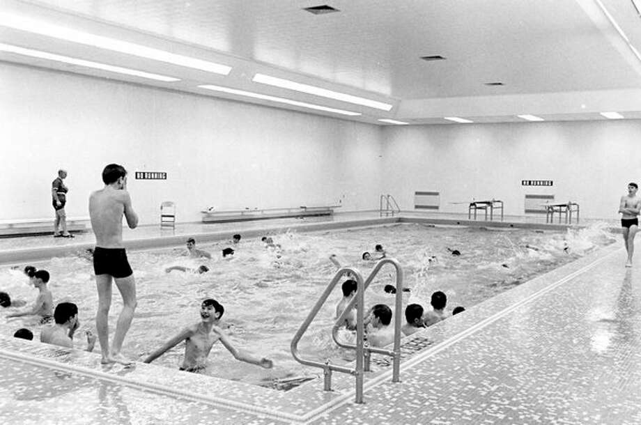 Swimming pool at Northeast Intermediate School.