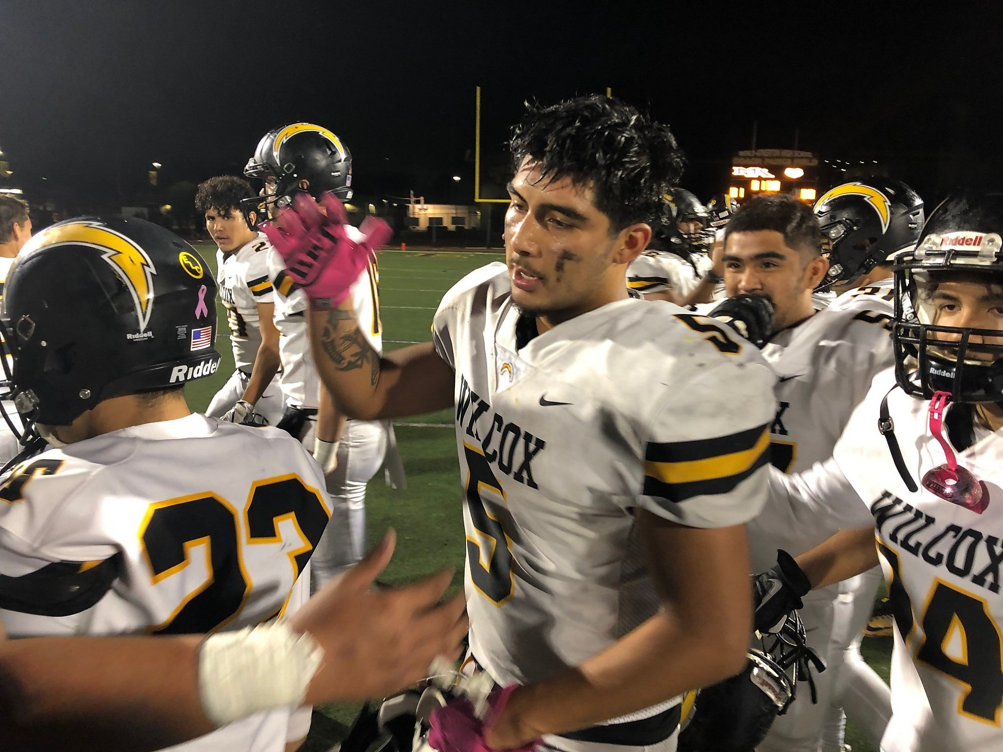 Redemption for Wilcox in CCS football playoffs - San Francisco Chronicle