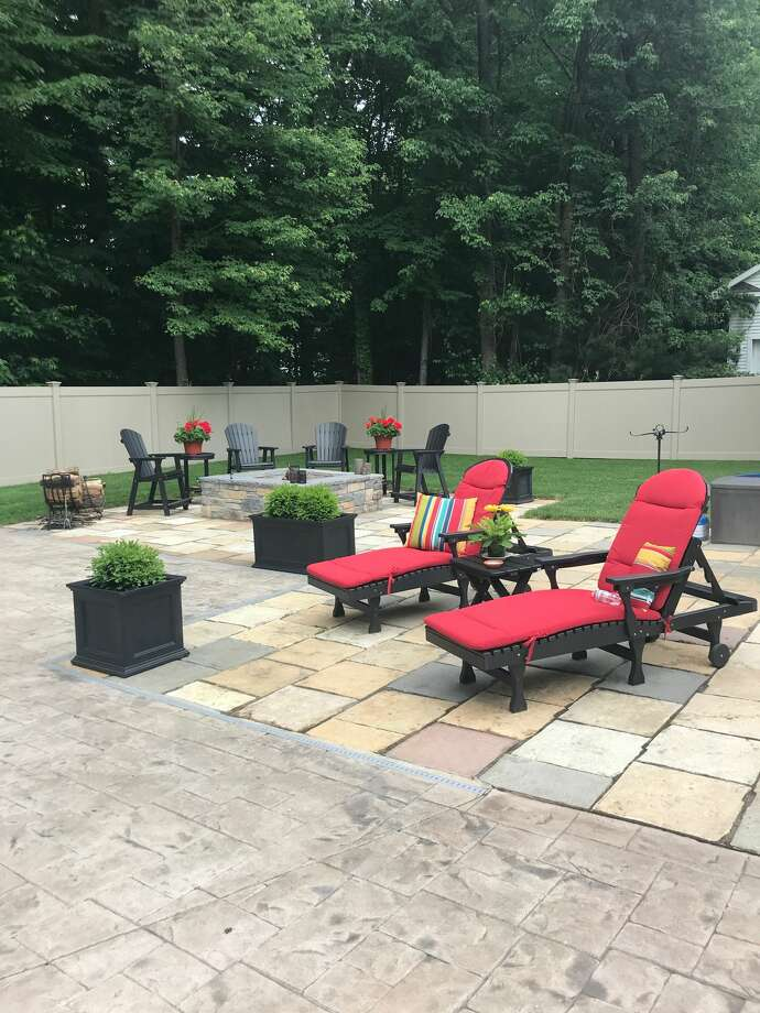 1. My favorite place is relaxing in my backyard with my wife, Kelly. Read more about Frank Gallo here. Photo: Courtesy Of Frank Gallo