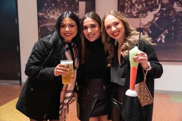 San Antonians came out to watch Maná perform on Friday, November 15, 2019 at the AT&T Center.