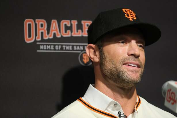 Gabe Kapler the new San Francisco Giants Manager speaks at a press conference at Oracle Park in San Francisco, Calif. on Wednesday November 13, 2019.