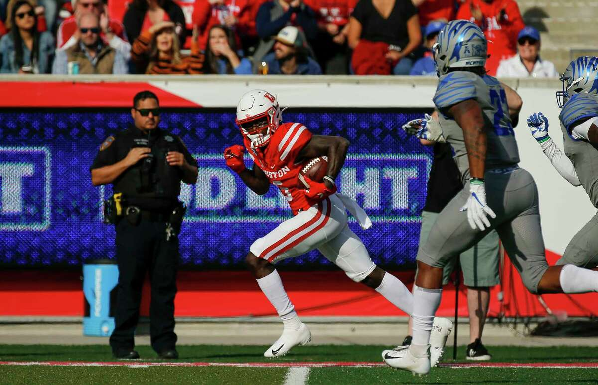 In the past two years, UH receiver Marquez Stevenson has totaled 10 catches covering at least 50 yards, among the most in the Football Bowl Subdivision.