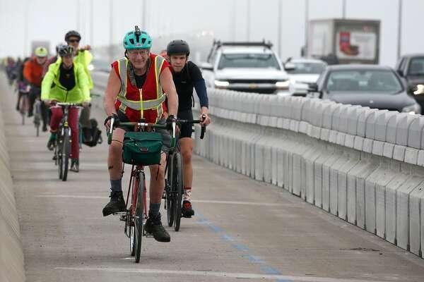 New bike path on Richmond-San Rafael Bridge leads to future