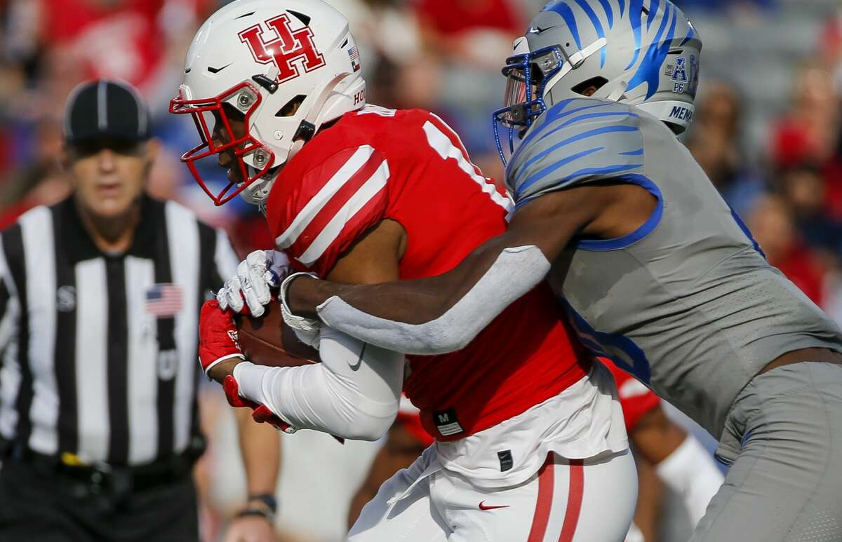 Zamar Kirven played in nine games for UH as a freshman in 2018 and eight games in 2019, including five starts.