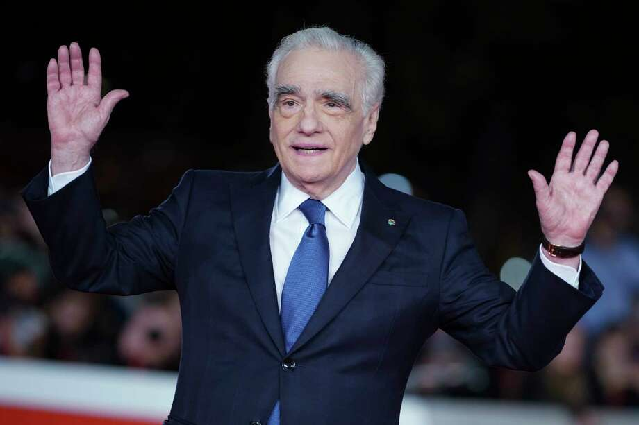 "Director Martin Scorsese poses on the red carpet of the movie ""The Irishman"", at the Rome Film Fest, in Rome, Monday, Oct. 21, 2019. (AP Photo/Andrew Medichini) Photo: Andrew Medichini / Copyright 2019 The Associated Press. All rights reserved"