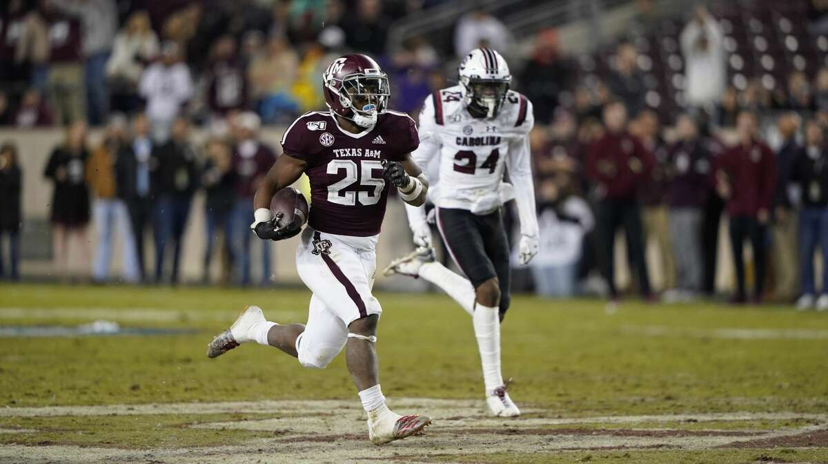 Texas A&M running back Cordarrian Richardson gashed South Carolina for 130 yards on just six carries and figures to have a featured role Saturday at Georgia.