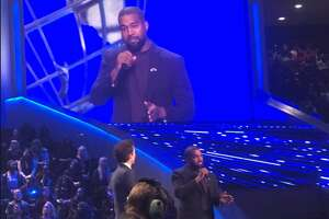 """Joel Osteen's Lakewood Church services will go on despite the City of Houston's coronavirus emergency declaration,  according to TMZ .   Kanye West's visit to Lakewood was tied to the release of West's gospel album """"Jesus is King."""""""